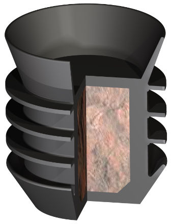 Top Rubber Cementing Plug